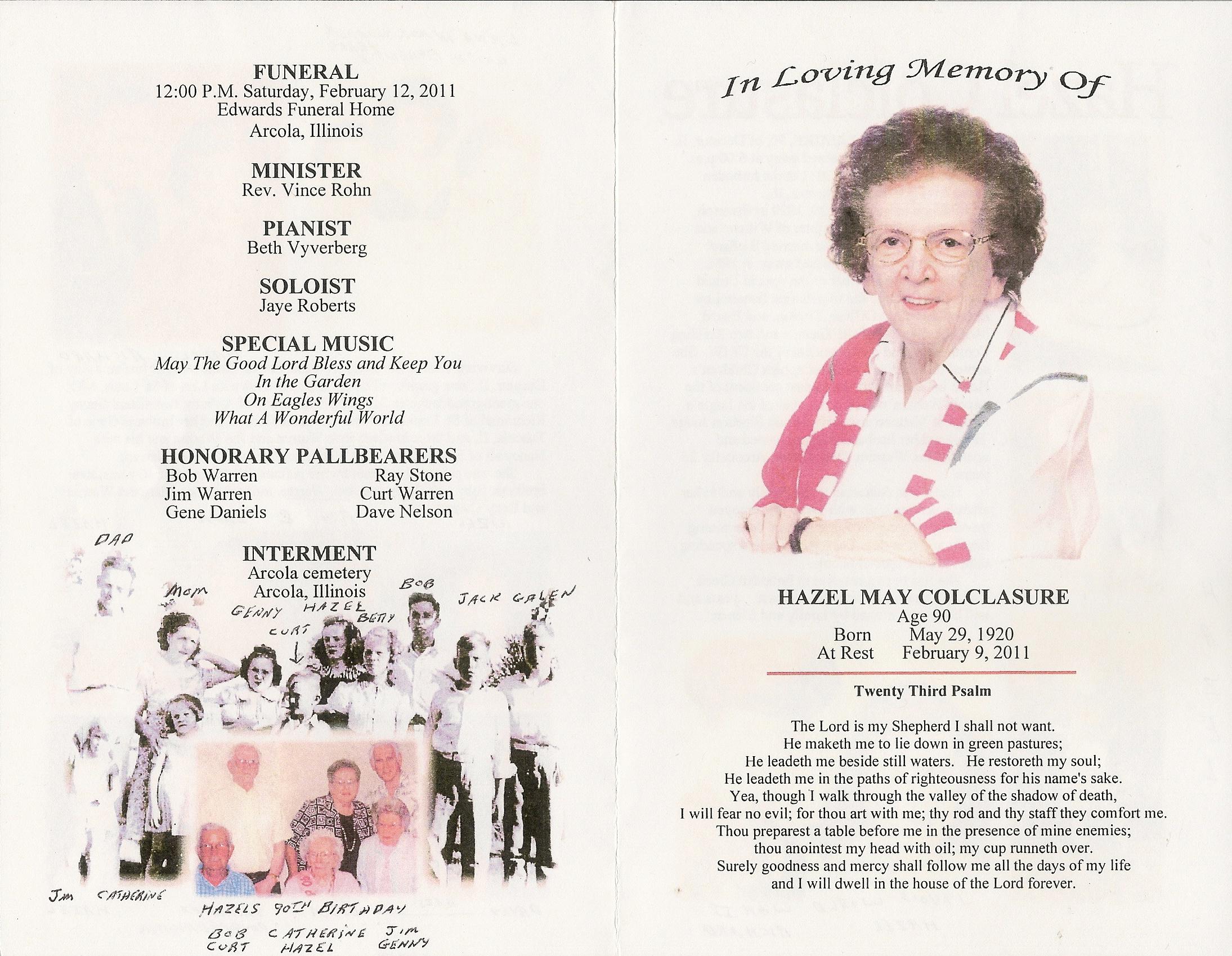 Hazel Mae <i>Warren</i> Colclasure