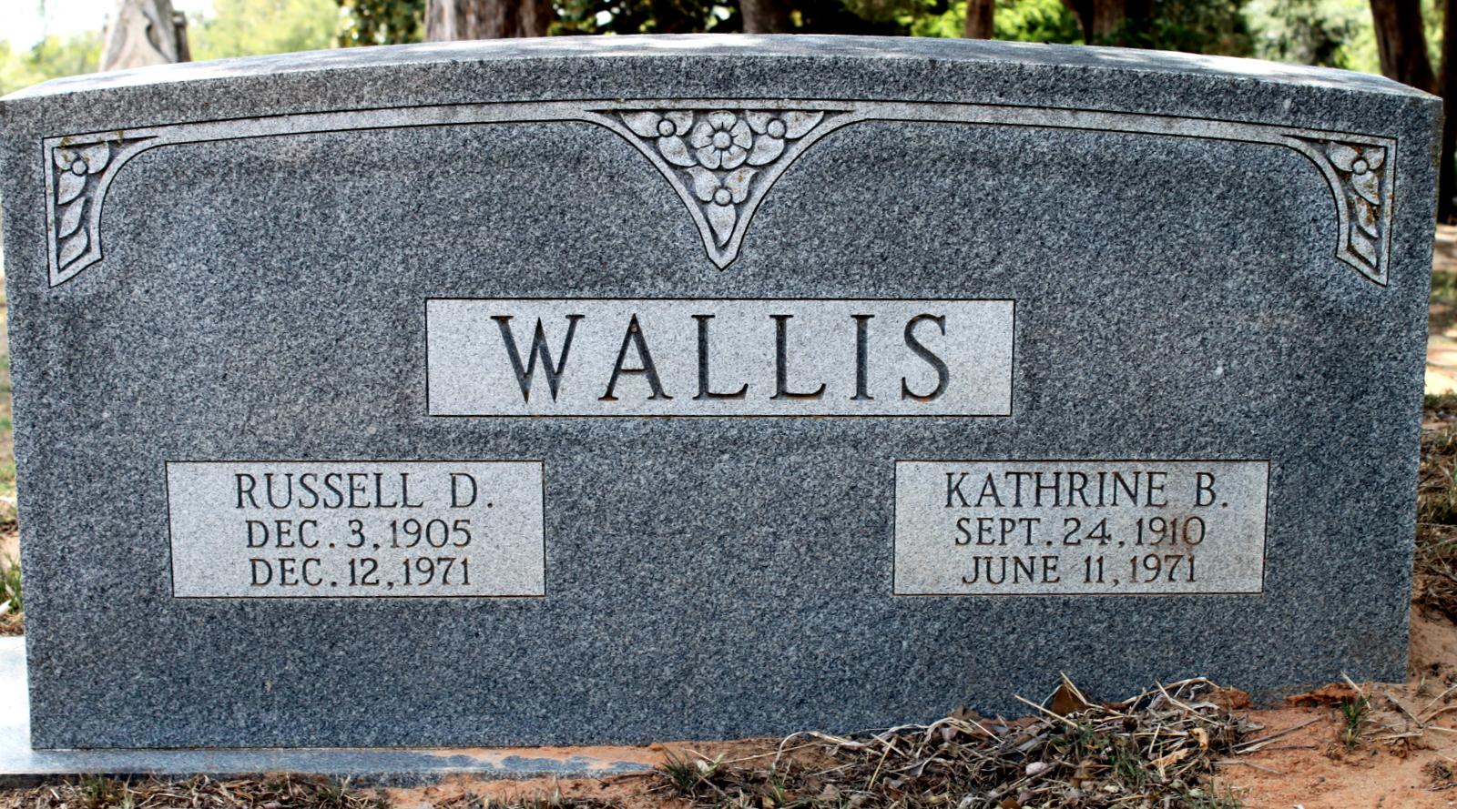 Russell D Wallis
