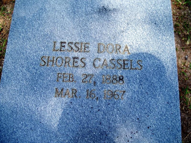 Lessie Dora <i>Shores</i> Cassels