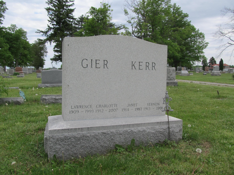 Janet E. <i>Aten</i> Kerr