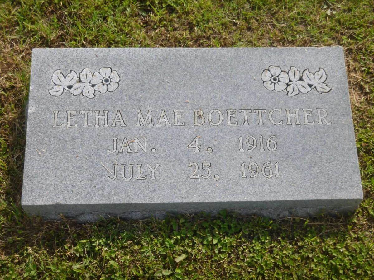 Letha Mae <i>Conner</i> Boettcher