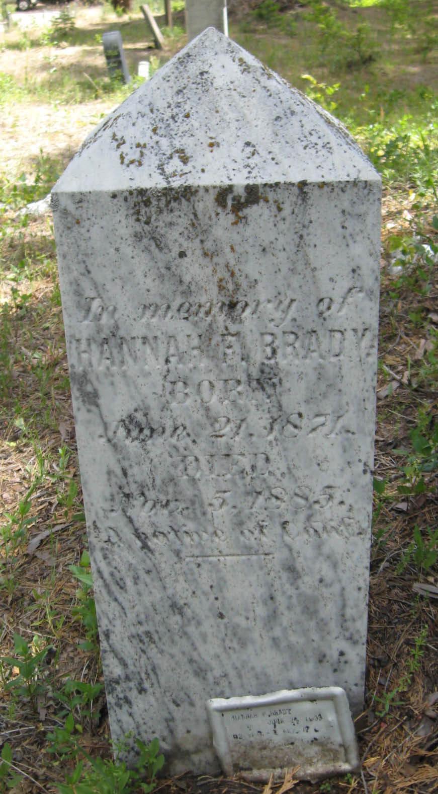 Hannah F Brady