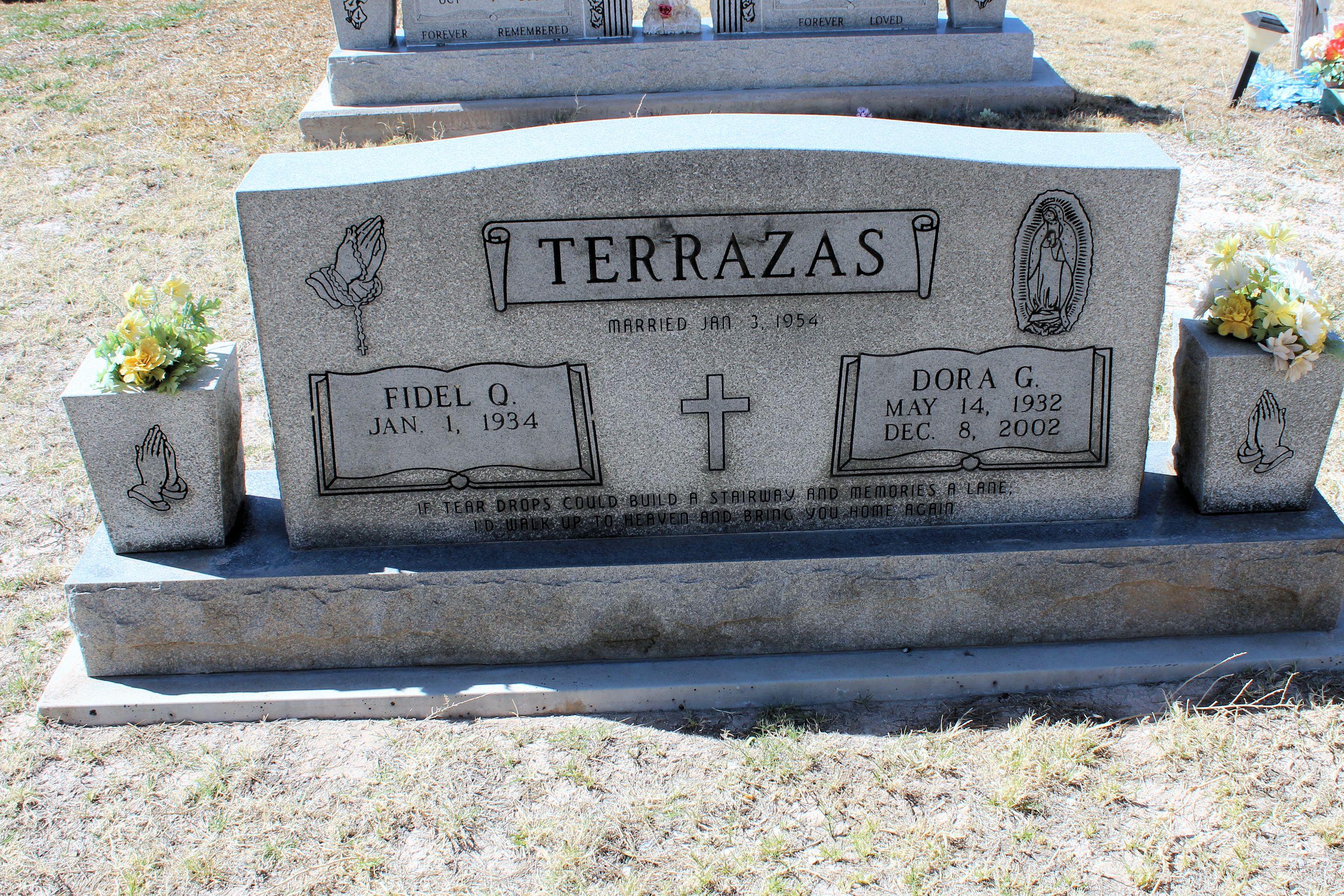 Dora G Terrazas 1932 2002 Find A Grave Memorial