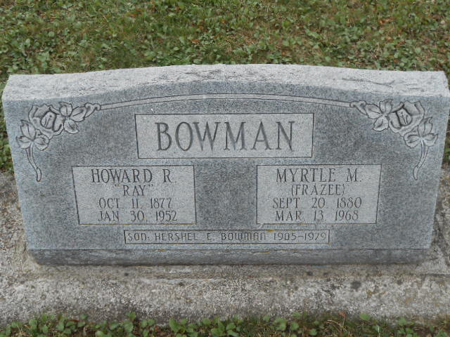 Archie Myrtle May <i>Frazee</i> Bowman