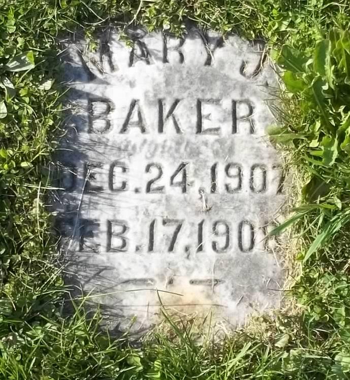 Mary J Baker