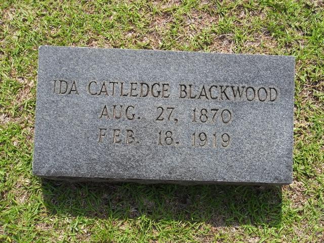 Ida <i>Catledge</i> Blackwood