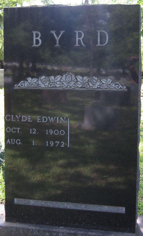 Clyde Edwin Byrd