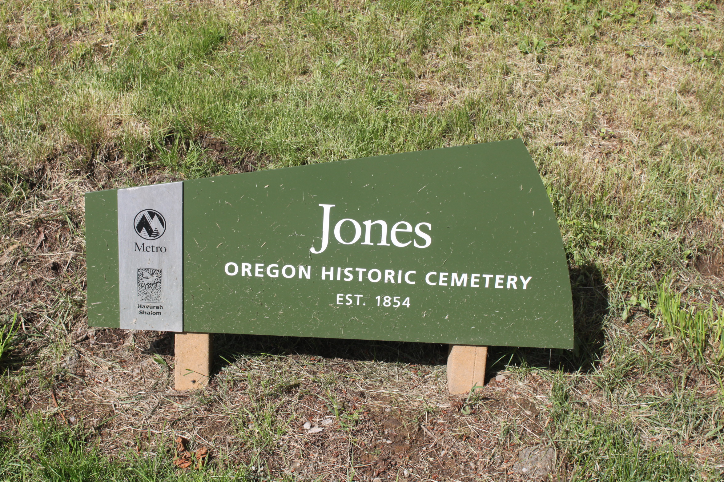 Jones Pioneer Cemetery