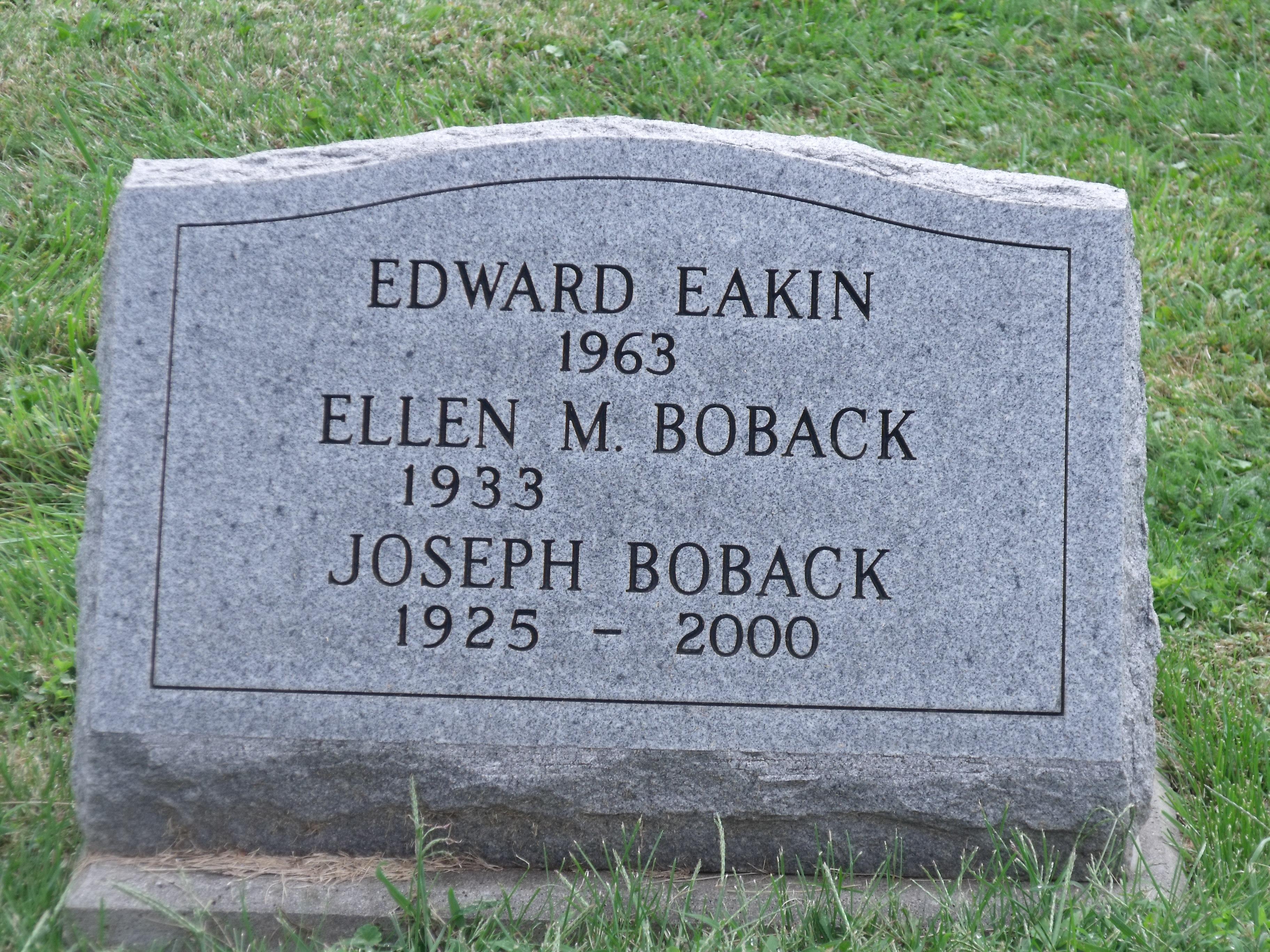 Edward Eakin