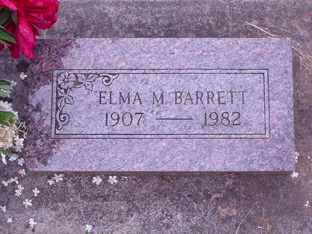 Elma Maude <i>Wright</i> Barrett