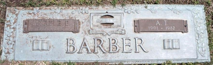 Myrtle Emma Dick <i>Morrell</i> Barber
