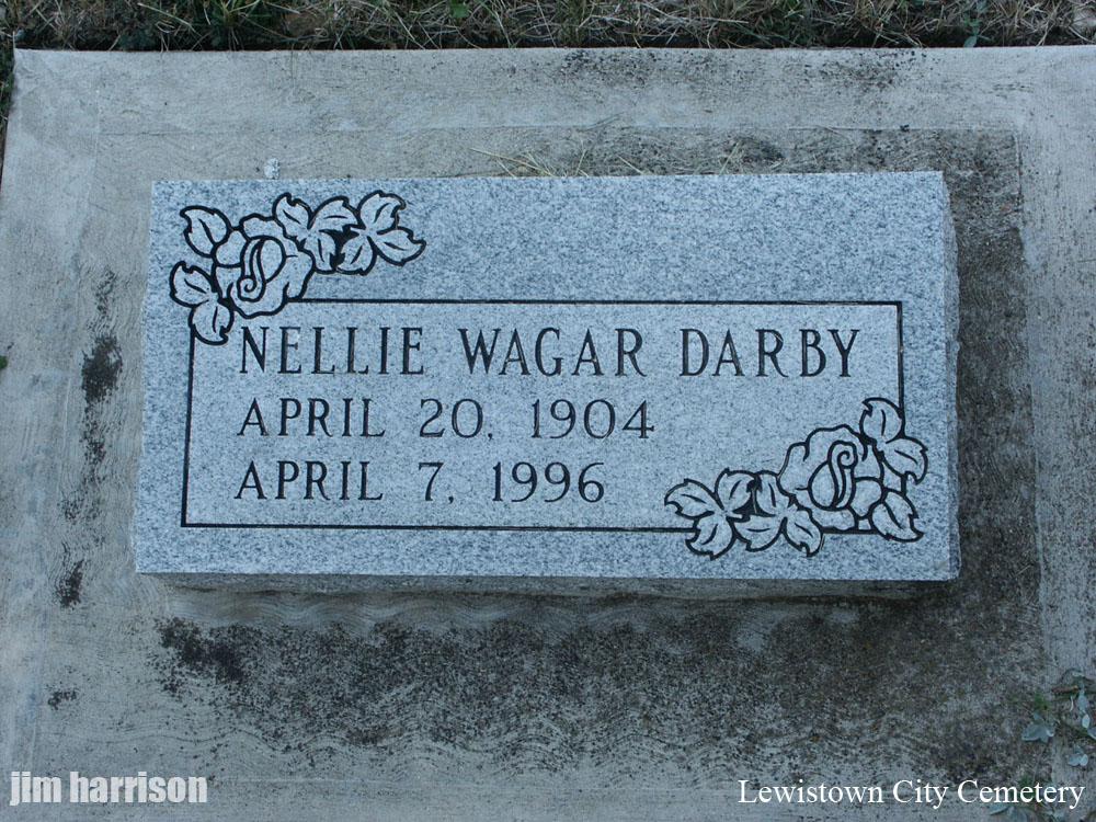 Nellie Maud <i>Wagar</i> Darby