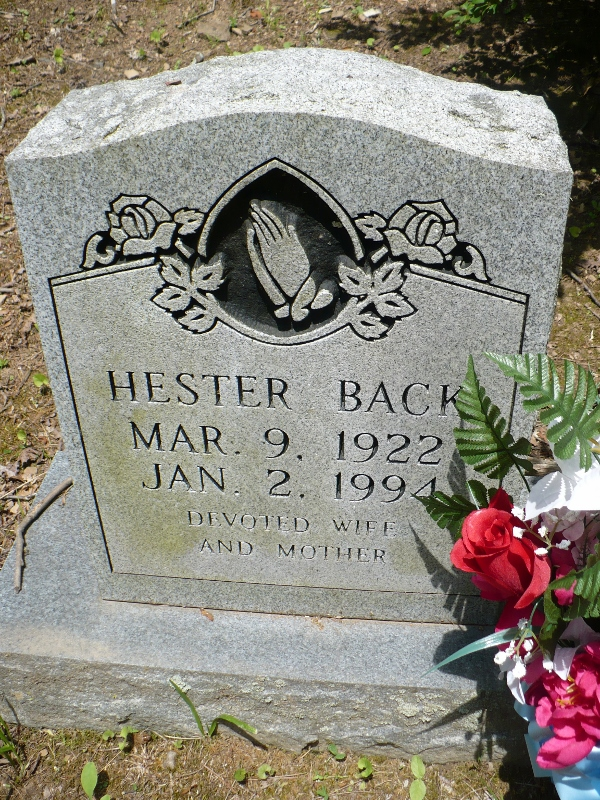 Hester <i>Caudill</i> Back