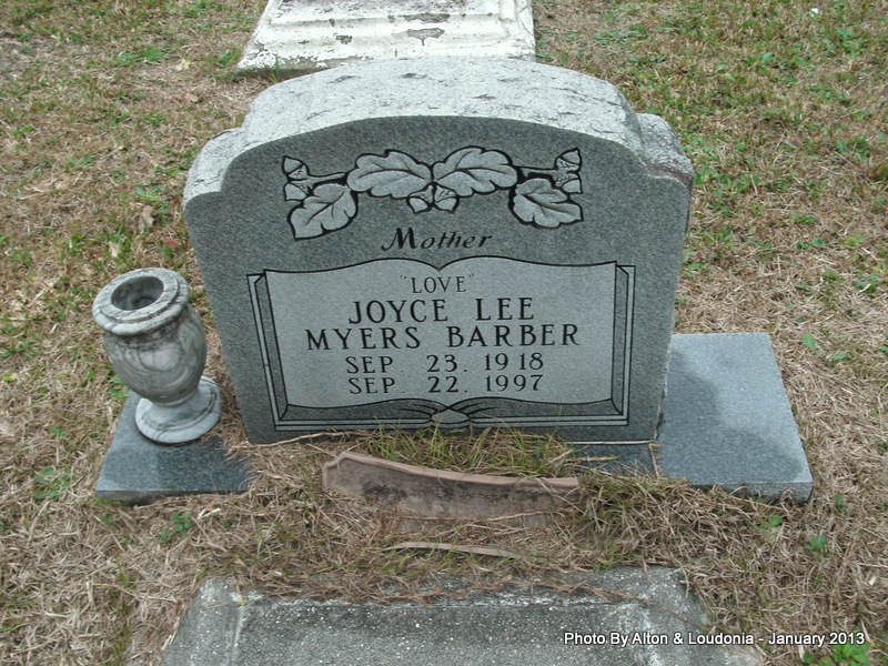 Joyce Lee <i>Myers</i> Barber