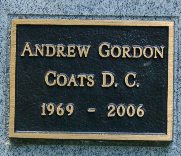 Andrew Gordon Coats