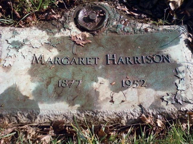 Margaret <i>McCredie</i> Harrison