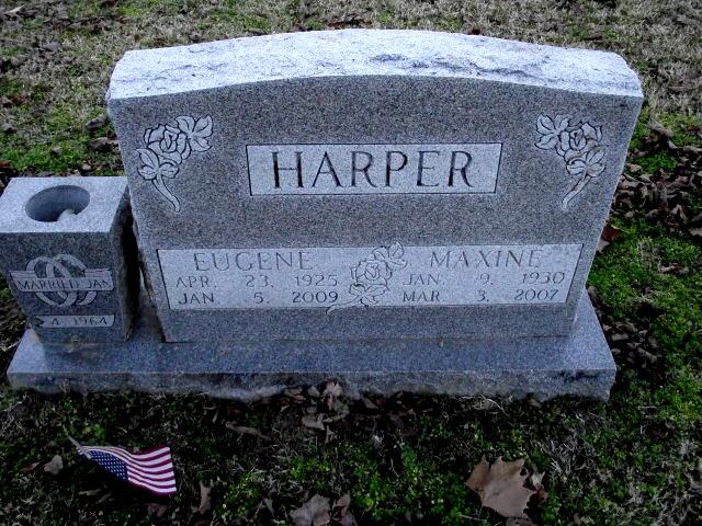 Maxine <i>Stroud</i> Harper
