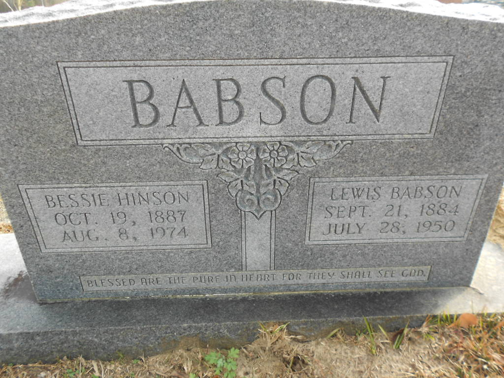 Lewis Shelton Babson, Sr