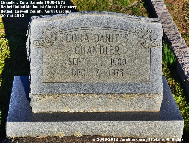 Cora <i>Daniels</i> Chandler