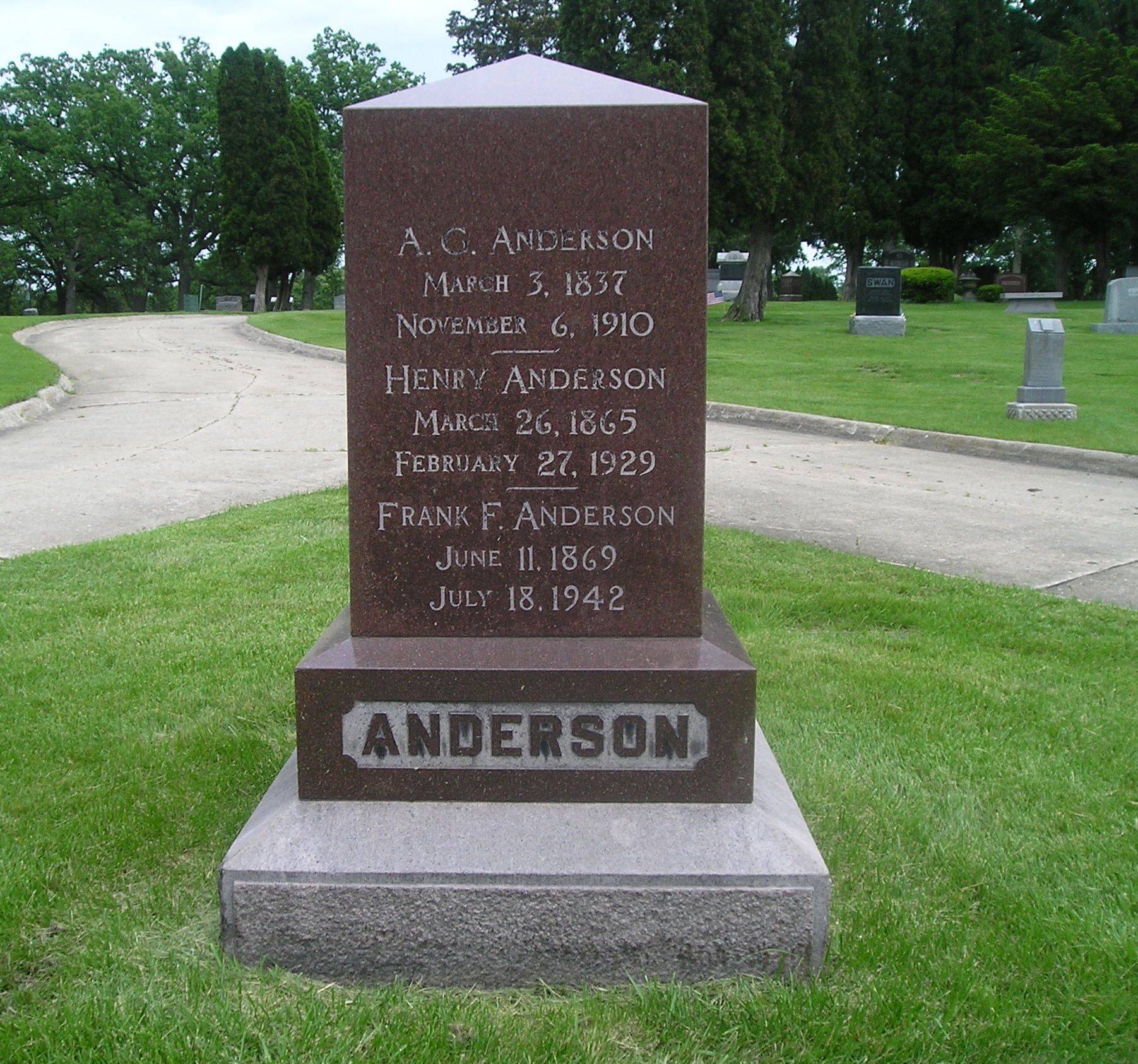 A. G. Anderson