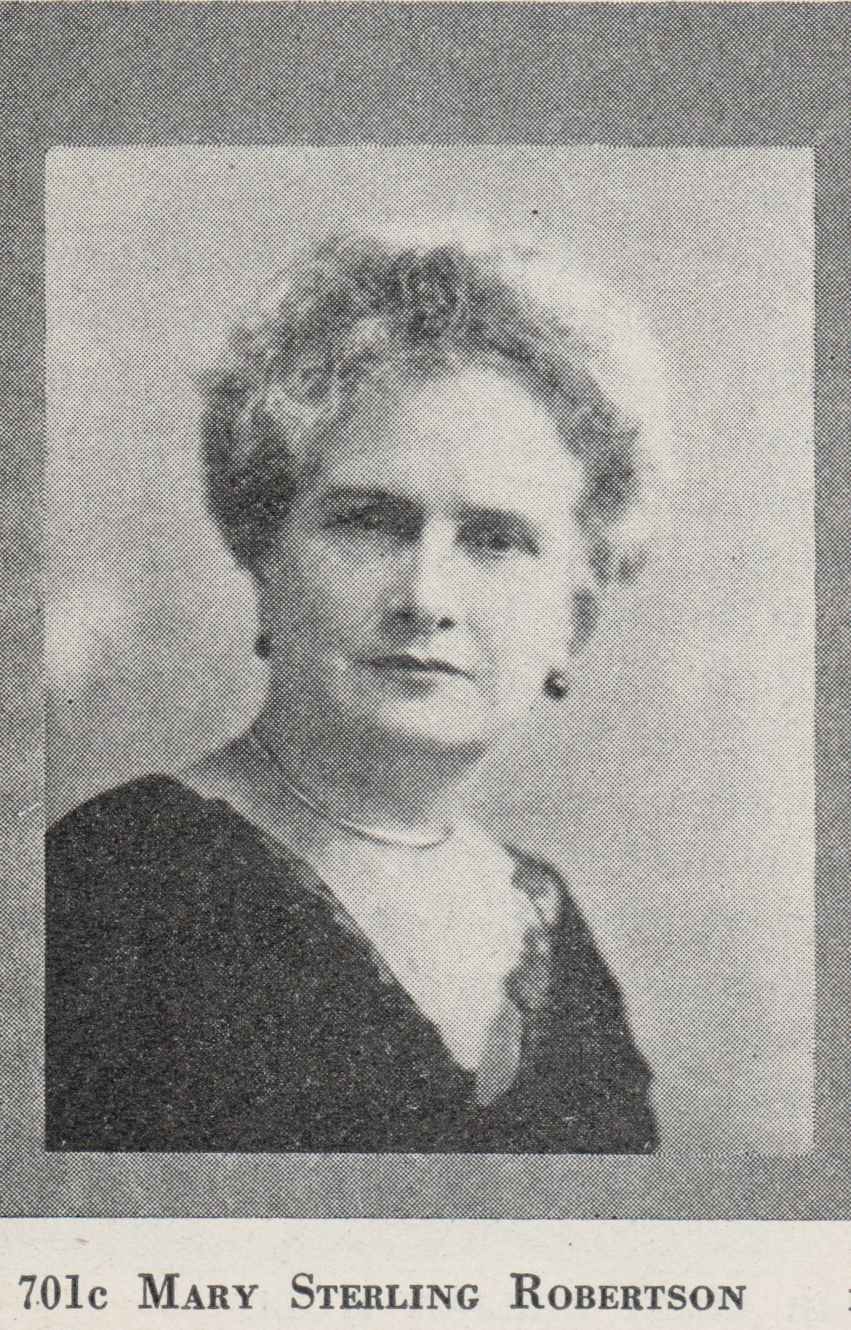 Mary Sterling <i>Robertson</i> Harrison