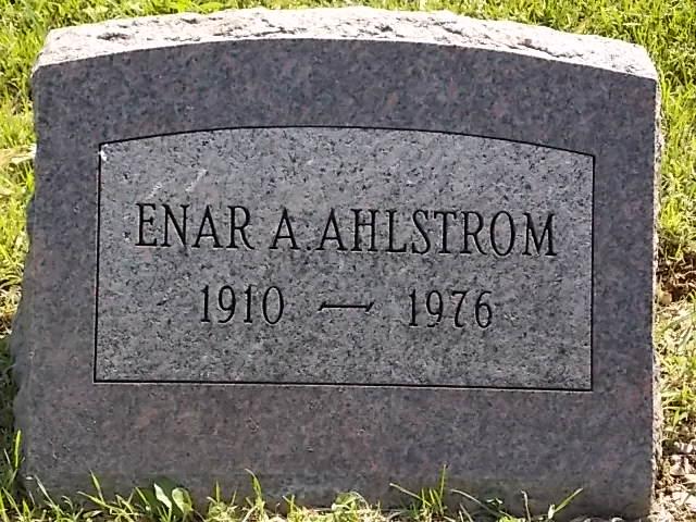Enar A. Ahlstrom