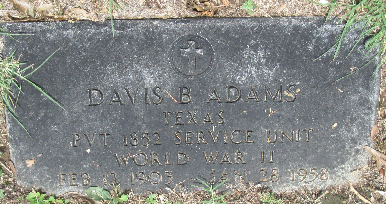 Davis B. Adams