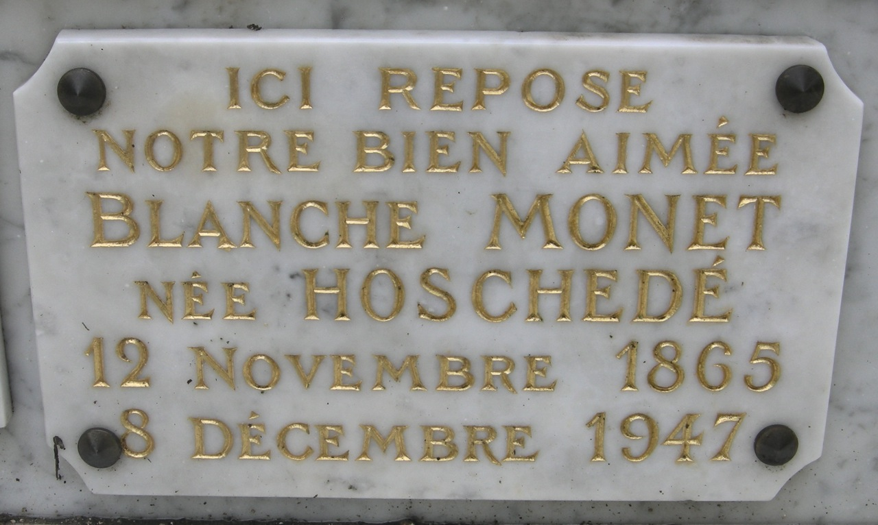 Blanche <i>Hoschede</i> Monet