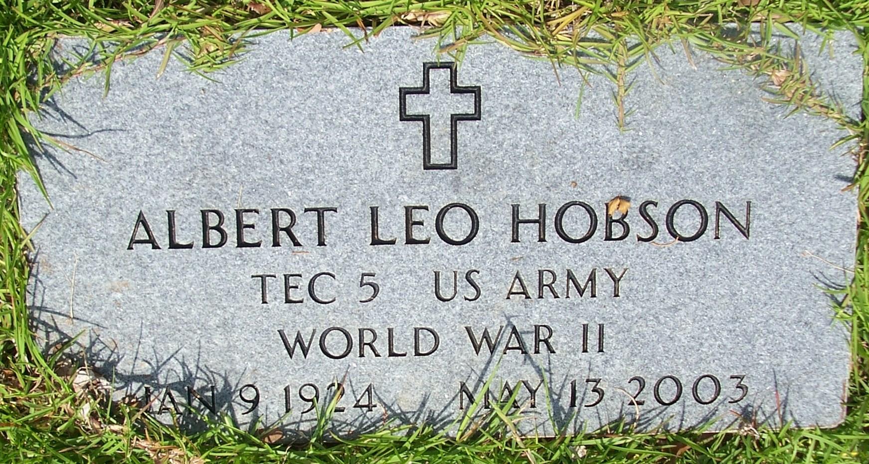 Albert Leo Hobson