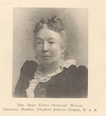 Mary Emily <i>Donelson</i> Wilcox
