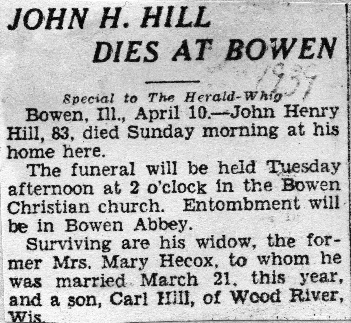 John Henry Hill (1855-1939) - Find A Grave Memorial