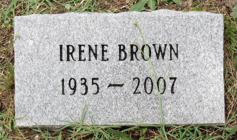 Irene Delores <i>Foreman</i> Brown
