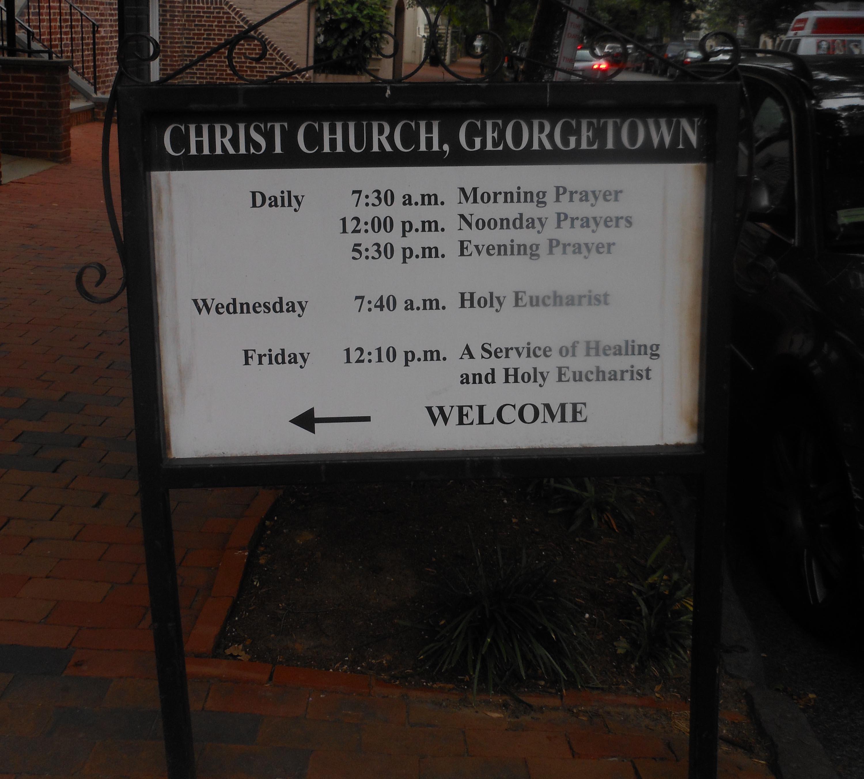 Christ Church Georgetown Cemetery