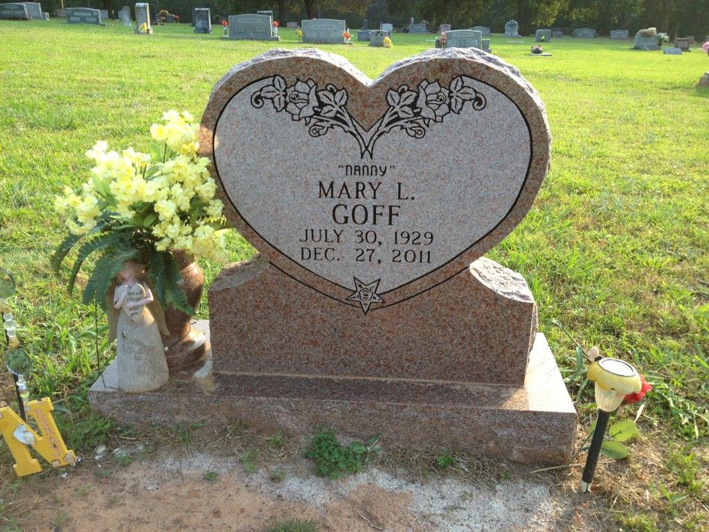 Mary Louise Nanny <i>Farley</i> Goff