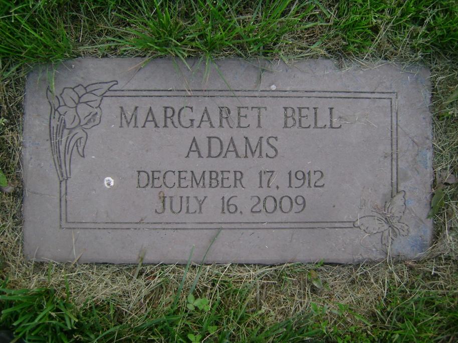 Margaret <i>Bell</i> Adams