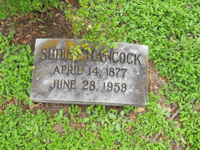 Sudie Hancock