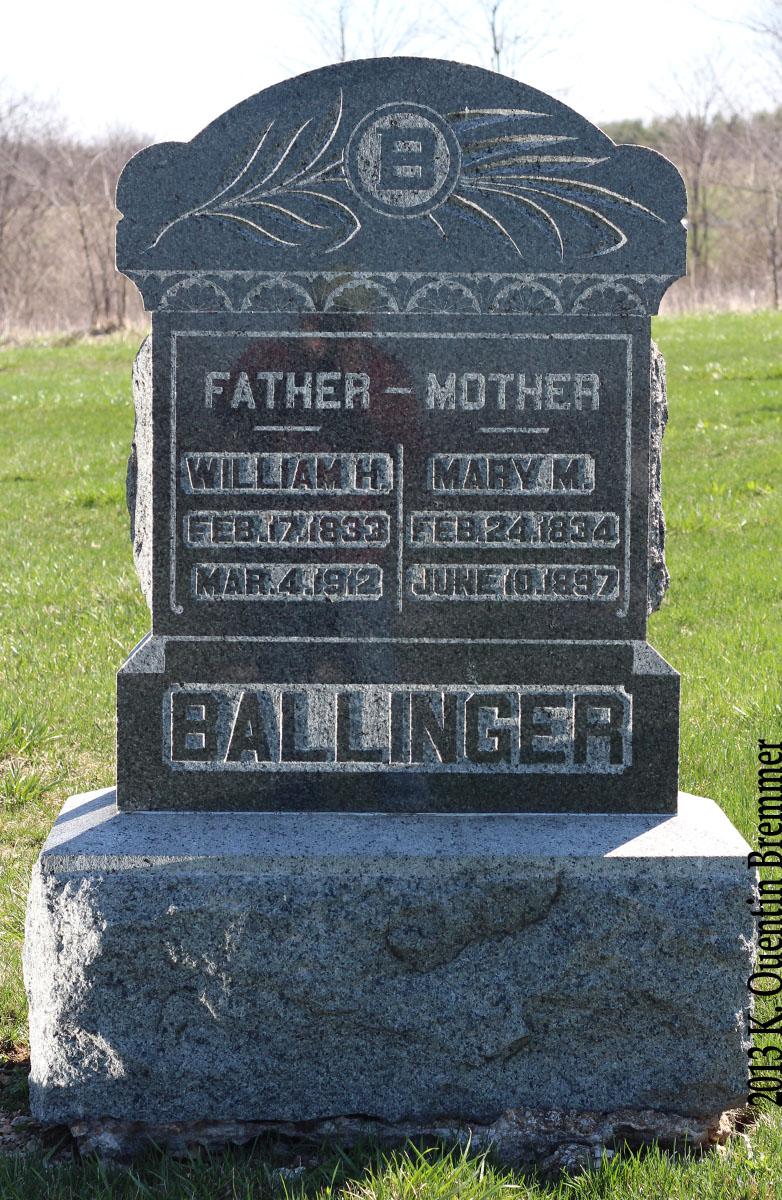 Mary M <i>Throckmorton</i> Ballinger