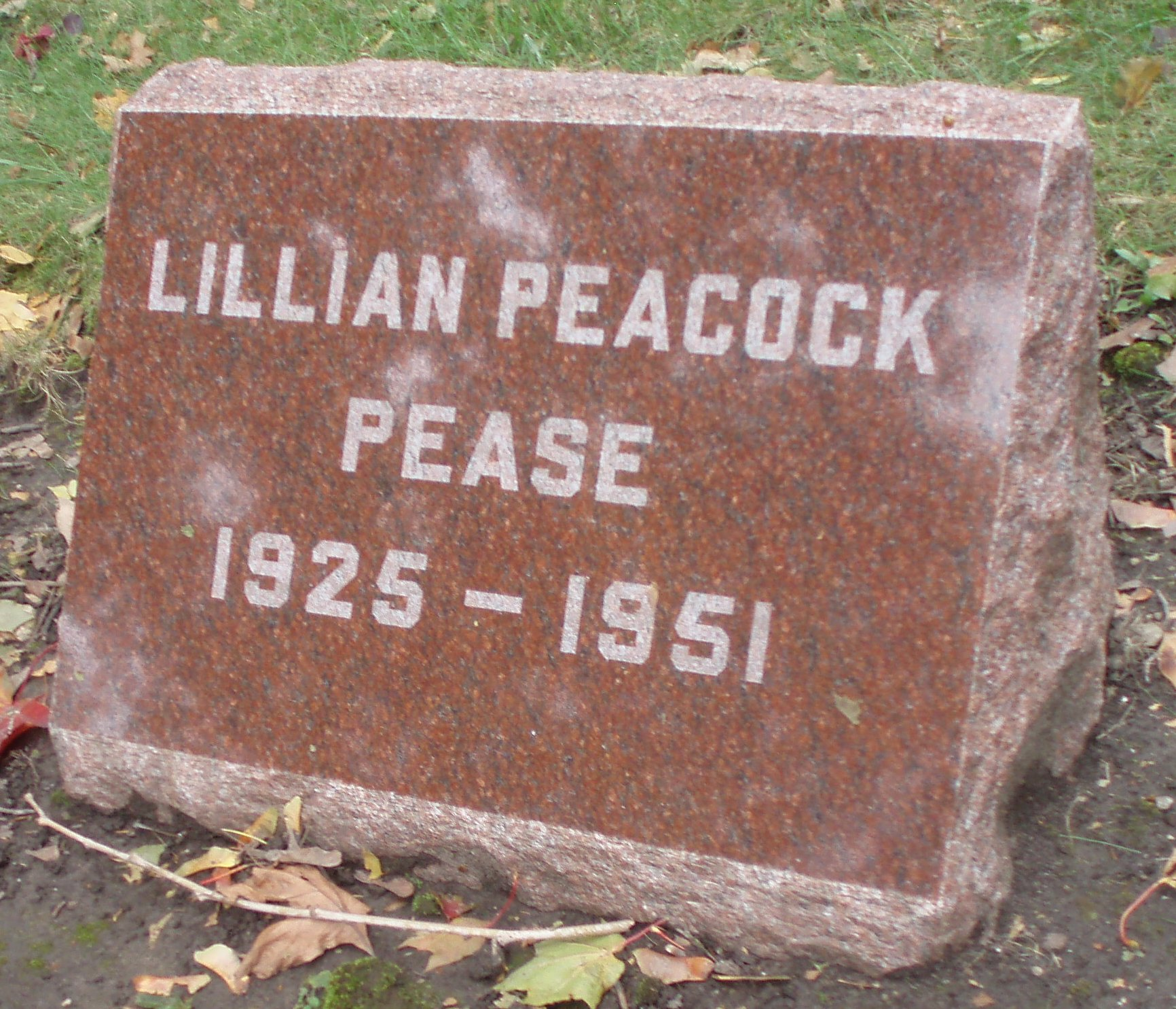 Lillian Peacock