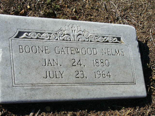 Boone Esther <i>Gatewood</i> Nelms