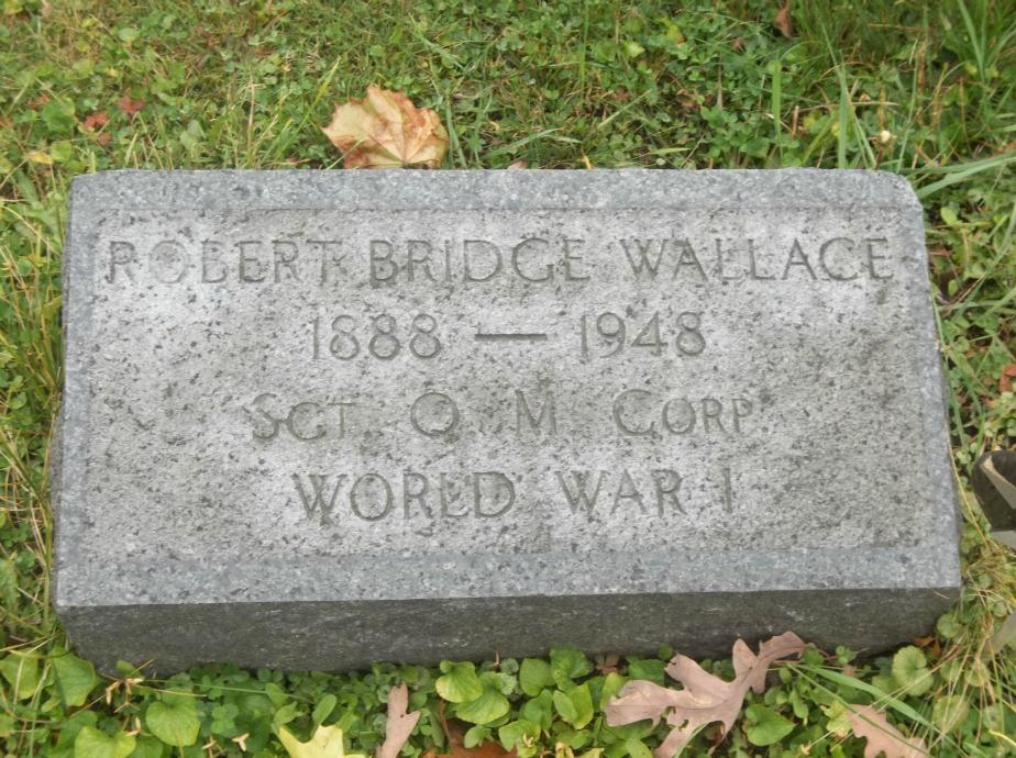 Sgt Robert Bridge Wallace, Sr