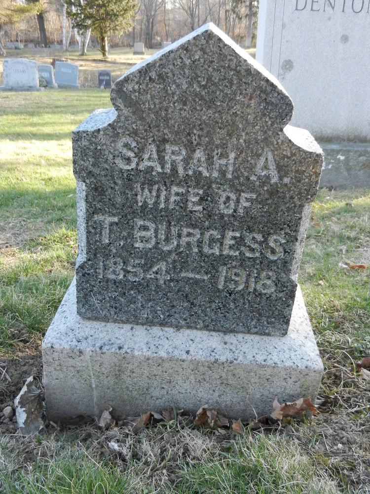 Mrs Sarah A. Burgess