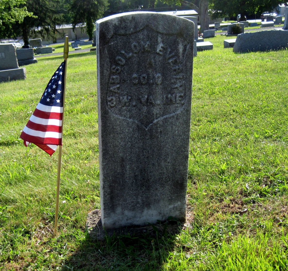 Pvt Absalom H. Everly