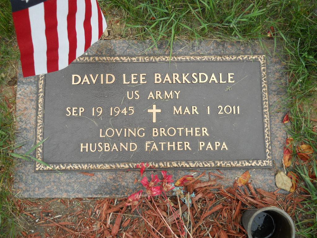David Lee Barksdale (1945-2011) - Find A Grave Memorial