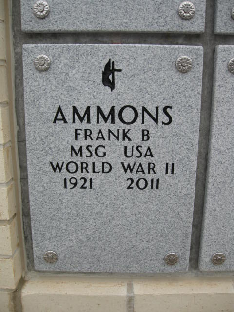 Frank B Ammons