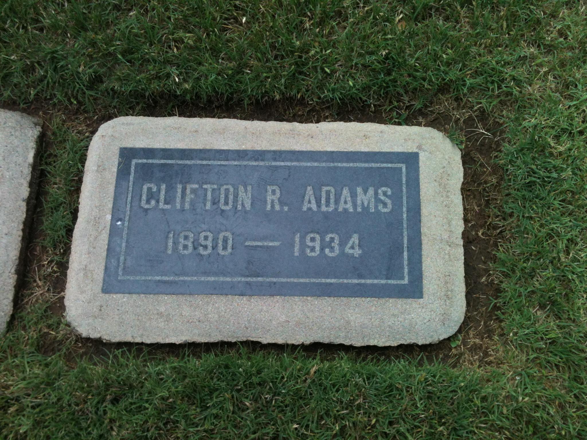 Clifton R Adams