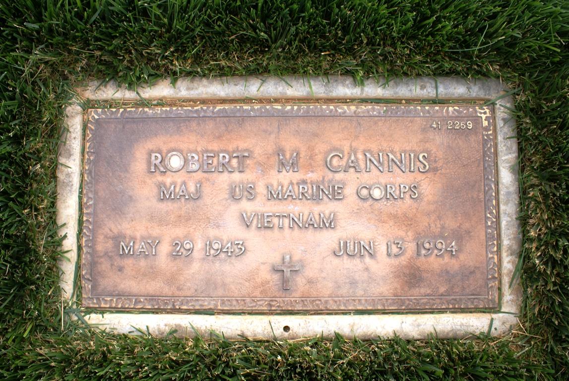Maj Robert Michael Cannis
