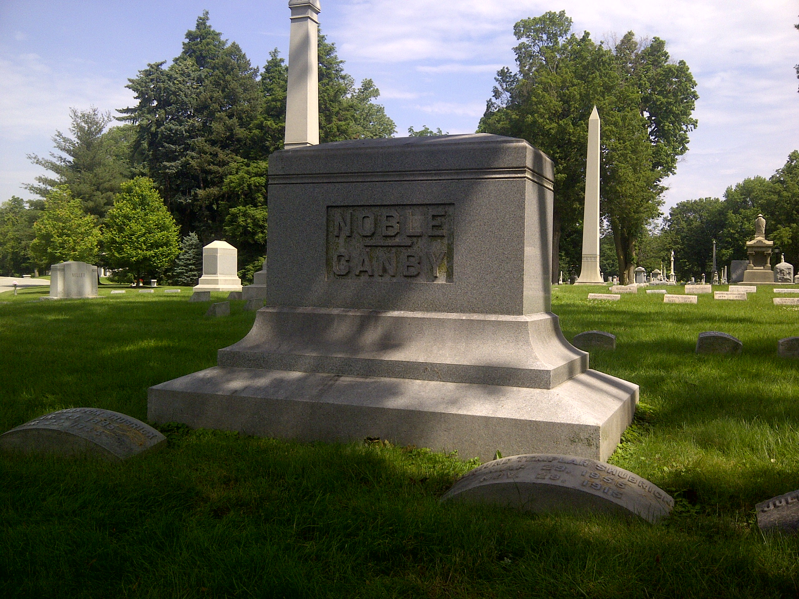 Louisa A <i>Canby</i> Noble