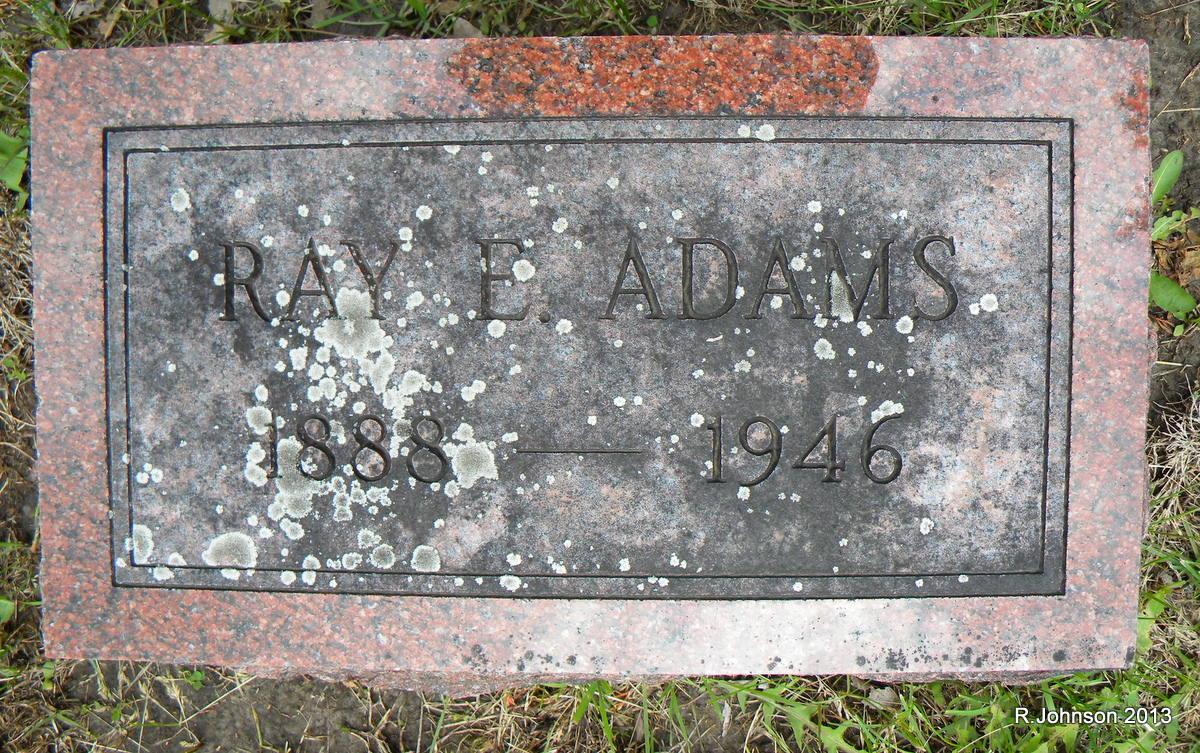 Ray Elsworth Adams