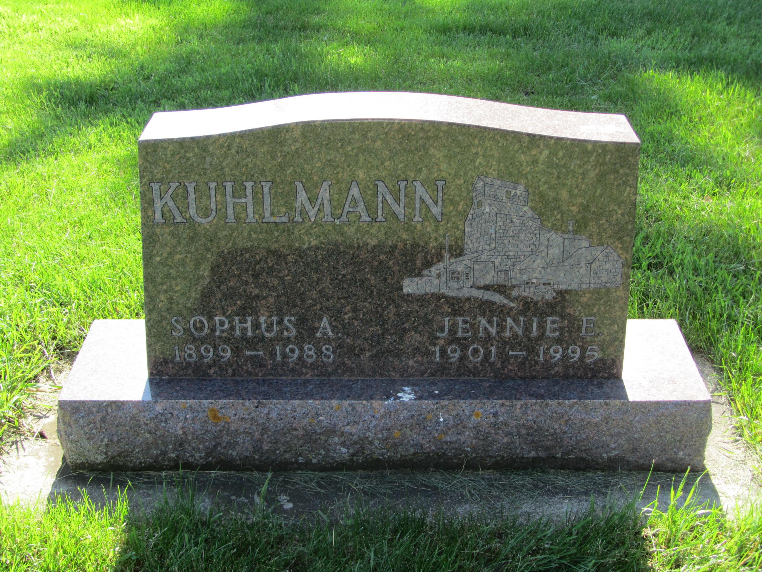 Jennie E. <i>Messenger</i> Kuhlmann