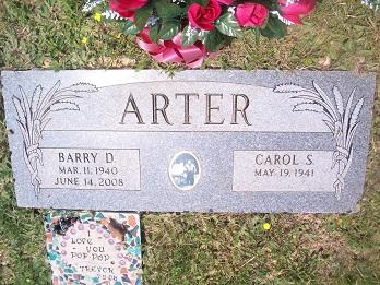 Barry D Arter